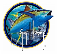 Aftco GHST1001 Blue Guy Harvey 5in Tuna Sticker