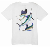 Aftco LTH3202 Guy Harvey Grand Slam Ladies Tee Shirt