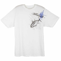 Aftco YMTH1370 Guy Harvey Tuna Run Youth Tee Shirt