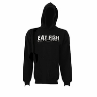 Grundens Gage Eat Fish Hooded Sweatshirt