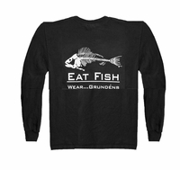 Grundens Gage EFLST Eat Fish Long Sleeve Tee Shirt