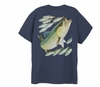 Aftco Guy Harvey Mens Stripe Bass Tee Shirts