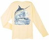 Aftco Guy Harvey Marlin Boat Dri-Release Long Sleeve T-Shirt