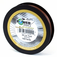 PowerPro Super Slick Braided Line 30lb 150yds Timber Brown