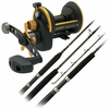 Penn Squall Star Drag / Torque Conventional Gamefish Combos