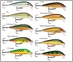 Rapala Scatter Rap Countdown Lures