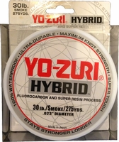 Yo-Zuri Hybrid Fishing Line 30lb 275yds Smoke Purple