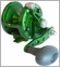 Avet JX 6.0 Single Speed Lever Drag Casting Reel Forest Green