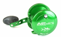 Avet LX 4.6 Single Speed Lever Drag Casting Reel Forest Green
