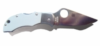 Spyderco MGGYP G-10 Manbug Plainedge Knife
