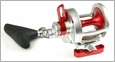 Release P-1401 Release Saltwater Conventional Reel SG Red