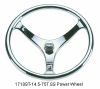 Edson 1710ST-14.5-75T Stainless Steel Power Wheel