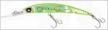 Yo-Zuri Crystal 3D Minnow Jointed Deep Diver