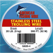 American Fishing Wire G040-4/2 Stainless Steel Trolling Wire