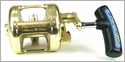 Alutecnos ALV2000B Single Speed Albacore Veloce Reel Gold