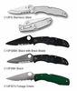 Spyderco Endura4 Lightweight Combination Edge Knives
