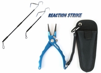 Free TackleDirect Custom Aluminum Offshore Plier Blue