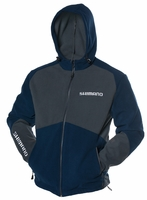 Shimano Magellan Fleece Hooded Jacket Navy