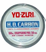 Yo-Zuri HD Flourocarbon Leader Pink 30lb-80lbs Buy One Get One 50% Off
