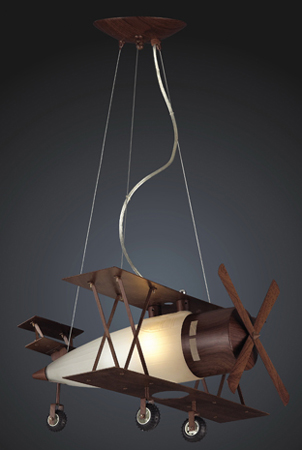Biplane Pendant Light