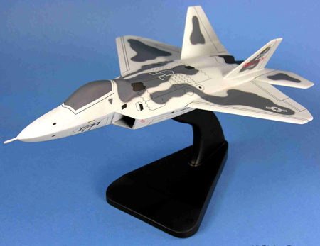 F-22 Raptor USAF Model Airplane