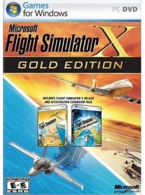 Microsoft Flight Simulator X - Gold Edition