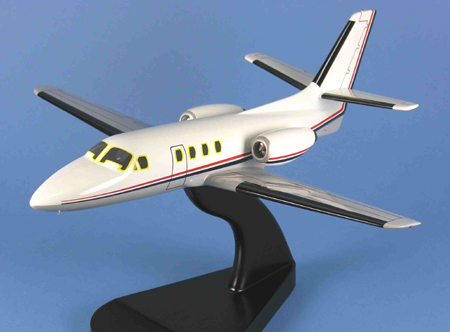 Cessna Citation I Model Airplane