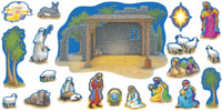 Nativity Bulletin Board Set by Trend Enterprises