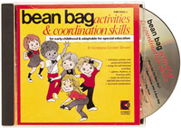 Bean Bag Activities CD by kimbo (kim-7055cd)