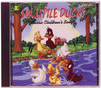 Six Little Ducks CD by kimbo (kim-9147cd)