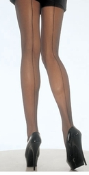 Back Seam Pantyhose