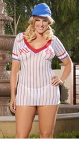 Queen Size Base Ball Girl Mini