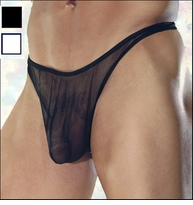 Men's See Thru Thong Nylon