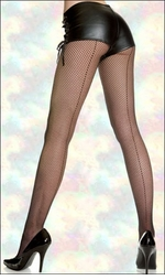 Plus Size Fishnets & Fence Nets & Other Queen Size Net Hosiery