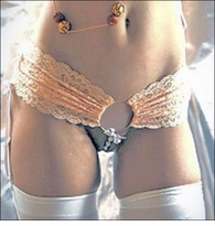 Pearl Panty with Garters