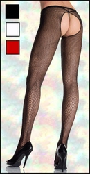 Crotchless Fishnet Pantyhose Plus Size