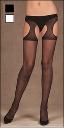 Queen Size Suspender Pantyhose
