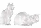 Lalique Cats