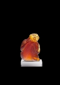 Daum Crystal Tanagra Amber - Guaranteed Lowest Price
