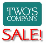 Two's Company Closeouts & Specials