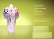 Daum Crystal Jade Vase - Guaranteed Lowest Price
