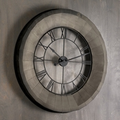 L Fresco Wall Clock
