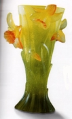 Daum Crystal Jonquilles Small Vase - Guaranteed Lowest Price