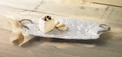 Embossed Shell Rectangle Platter