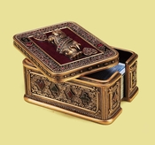 Edgar Berebi Queen Of Hearts Card Box
