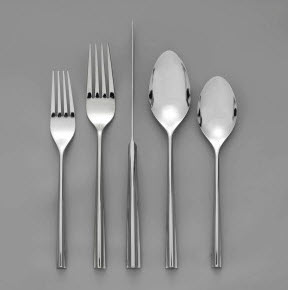 Nambe Emily 5-piece Flatware Place Setting