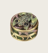 Edgar Berebi Frog Pill Box