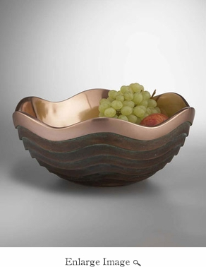 Nambe Copper Canyon Bowl - ADDITIONAL 25% OFF AT CHECKOUT