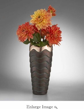 Nambe Copper Canyon Vase