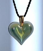Lalique Heart Pendant Large Antin�a GP